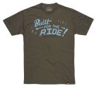 (RSD)<br>BUILT FOR THE RIDE Tシャツ MILITARY GREEN