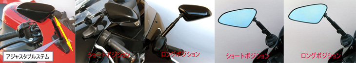 TARGA ADJUSTABLE MIRROR